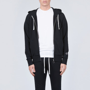 URBAN RAGLAN ZIP UP CARBON