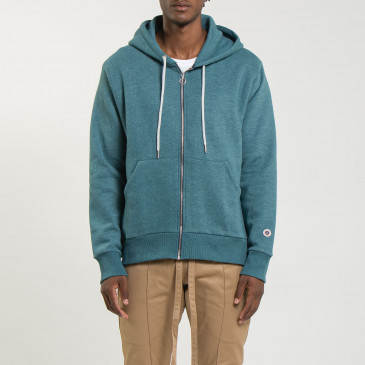 ZIP UP HOOD DUCK MARL